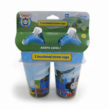 The First Years Thomas & Friends Insulated Straw Cup - 2pk