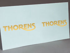 THORENS PORTABLE GRAMOPHONE PHONOGRAPH WATER SLIDE DECAL