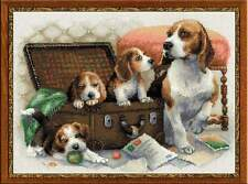 "Counted Cross Stitch Kit RIOLIS - ""Canine Family"""