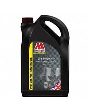 Millers NANODRIVE CFS 0w-20 NT+ Full Synthetic Engine Oil 5 Litres 5L - NEW 2017