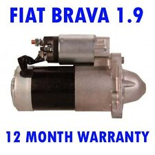 FIAT BRAVA 1.9 HATCHBACK 2000 2001 REMANUFACTURED STARTER MOTOR