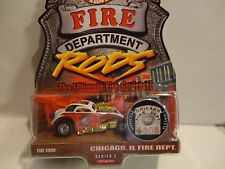 Hot Wheels Fire Department Rods Chicago IL. Fiat 500C