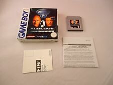Star Trek: Generations Beyond the Nexus Nintendo Game Boy w/Box game PAL Version