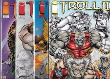 TROLL LOT OF 5 - #1 ONCE AN HERO, HALLOWEEN SPECIAL, TROLL II GN & EXTREME X-MAS