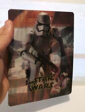 Star Wars: The Force Awakens 3D lenticular Flip effect for Steelbook