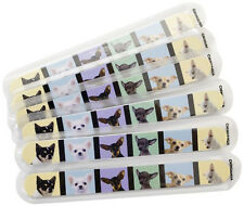Fetch for Pets Chihuahua Nail Files 6-Pack Emery Boards Dog Puppy Animal Cute