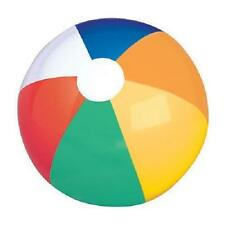 "MULTI COLORED BEACH BALL 16"" Pool Party Beachball NEW #AA11 Free Shipping"