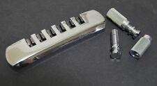 Schaller Guitar Stop Tailpiece With Studs Chrome Made In Germany