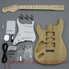 Bargain Musician - GK-001L - LEFT Hand DIY Unfinished Project Luthier Guitar Kit