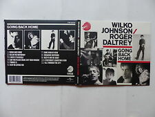CD Album WILKO JOHNSON & ROGER DALTREY Going back home CRCD2014