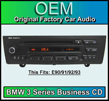 BMW 3 Series CD player, BMW Business car stereo, BMW E90 E91 E92 E93 radio unit