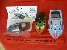 vintage Speed boat Ship Tin Litho toy super 105 Pop Pop No D steam powered boat