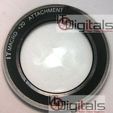 49mm MACRO CLOSE-UP LENS Filter +20  49 mm Camcorder Camera SLR DSLR  +20IT
