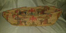 Vintage America Indian weaved basket