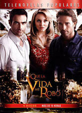 NEW LO QUE LA VIDA ME ROBO New 4 DVD 15 Hours Telenovela What Life Took from Me