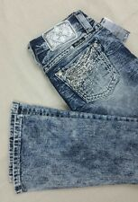 """Miss Me style """"SIGNATURE"""" (JE834482A) Bootcut Jean size 27x31 in NWTags"""