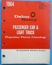 1964 Delco Remy Pass & Light Truck Popular Parts Catalog 1A-95 1A-100