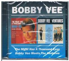 Bobby Vee-The night has a thousand eyes&Meets the Ventures/2 Alben/CD-Neuware