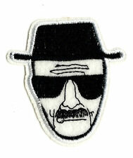 HEISENBERG IRON ON / SEW ON PATCH Embroidered Badge Motif TV BREAKING BAD  PT71