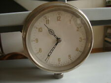 Russian soviet  navy  brass  ship wall clock XII hours dial