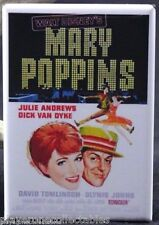 "Mary Poppins Movie Poster - 2"" X 3"" Fridge / Locker Magnet. Julie Andrews"
