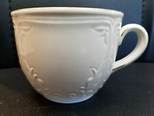 Villeroy & Boch Cortina 2000 Coffee Cup Embossed Leaves Luxembourgh
