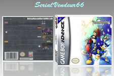 "BOITIER ""KINGDOM HEARTS CHAIN OF MEMORIES"", GAME BOY ADVANCE, FR. SANS LE JEU."