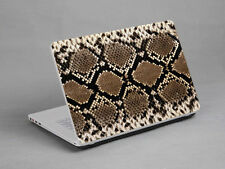 LAPTOP NOTEBOOK SKIN STICKER COVER DECAL SNAKE SKIN TOSHIBA HP DELL 17 inch