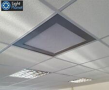 LED Ceiling Panel Recessed or Surface 600x600mm Warm White 3000k 48W  Diffuser