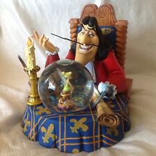 Disney Peter Pan Captain Hook &TinkerBell Musical Lite Up Blower SnowGlobe-MIB