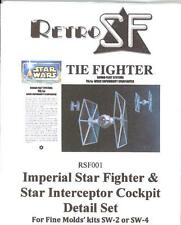 RetroKits Models 1/72 TIE FIGHTER COCKPIT DETAIL SET Resin Kit