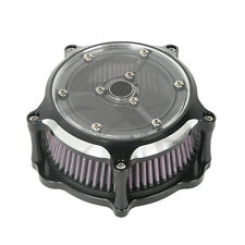 Motocycle Clarity Air Cleaner Contrast Cut For Harley Sportster 883 1200 91-15