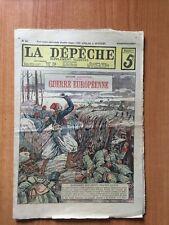 LA DEPECHE supplément illustré n° 50 hebdomadaire