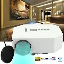 Home Cinema Theater Mini LED LCD 3D Projector 1080P HD HDMI TV PC AV USB VGA SD