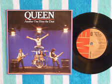 QUEEN Another One Bites The Dust 45 rpm w/ PICTURE SLEEVE EMI 1980 UK Pressing