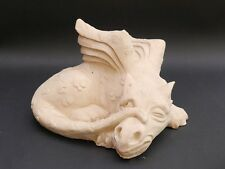 Sandstein Figur Skulptur kleiner Drache für Haus und Garten (3856)