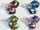 B39 *BAROQUE* 22 mm - 925 Sterling Silver - EARRINGS WITH SWAROVSKI STONES