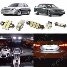 12x White LED lights interior package kit for 2000-2005 Chevy Impala CI2W