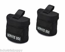 Service Dog Vest Harness Saddle Bags Backpacks with Velcro Patches