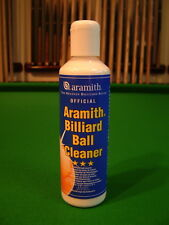 ARAMITH 1G MATCH SNOOKER POOL & BILLIARD BALL CLEANER  NEW Free Chalk Holder inc