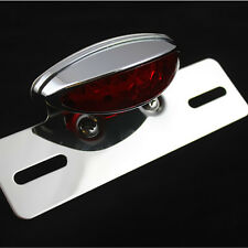 Running Tail Brake Light License Plate Holder For Kawasaki Suzuki Honda Yamaha