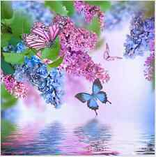 Flowers in water  Diamond Embroidery 5d Diamond DIY Painting Cross Stitch