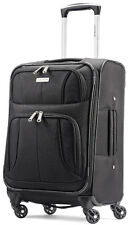 "Samsonite Luggage Aspire XLite 19"" Spinner Carry On Expandable Suitcase - Black"