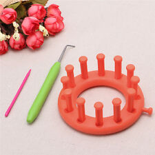 Bloom Loom Set Knitter Knitting Flower Loom Make Embellishments For Hat Scarves