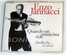 ENZO JANNACCI - QUANDO UN MUSICISTA RIDE - CD Singolo  Nuovo Unplayed