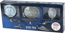 STAR TREK Official Starships Magazine 3 pack set #1 Enterprise 1701 C, D & E