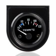 elec 25847BF Splitfire oil temperature gauge black face, 67mm 120-300F