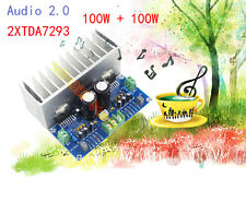 TDA7293 X2 100+100W Digital Stereo Audio Amplifier Board 2.0 With Cable  HIFI