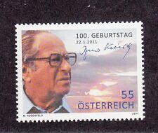 Austria/Österreich 2011 Centenario nascita Bruno Kreisky 2733 Mnh
