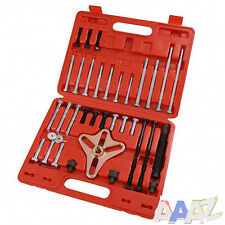 46Pc Harmonic Puller Set Crankshaft Balance Puller Gear Flywheels Steering Tool